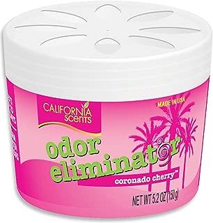 California Scents Odor Eliminator, Coronado Cherry, 5.2-Ounce Jars (Pack of 12)