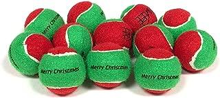 Midlee Merry Christmas Dog Tennis Balls