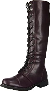 Dirty Laundry by Chinese Laundry Women's Roset Combat Boot, OXBLOOD, 9.5 M US