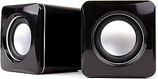 DURAGADGET Altavoces Compactos para Sintetizador Korg MONOTRON/Korg Monotron Delay/Korg Monotron Duo - Tamaño Mini Conexión Mini Jack + USB