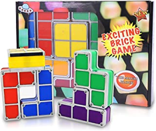 Stackable 3D Night Light Puzzles Toy,7 Colors Magic Blocks Induction Interlocking LED Novelty...