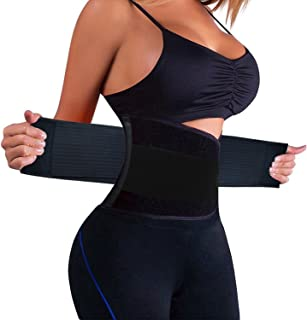 KOOCHY Waist Trainer Belt for Women-Waist Cincher Trimmer Weight Loss Belt-Tummy Control Slimming Body Shaper Belt