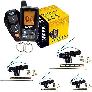 Viper 5305V 4 Door Locks 2 Way Car Alarm Keyless Entry Remorte Start System
