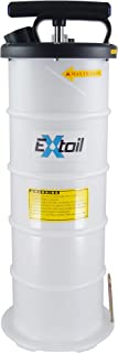 EXtoil 6-Liter Oil Extractor with Vacuum Gauge