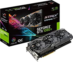 ASUS ROG GeForce GTX 1080 Ti DirectX 12 STRIX-GTX1080TI-11G-GAMING 11GB 352-Bit GDDR5X HDCP Ready SLI Support Video Card