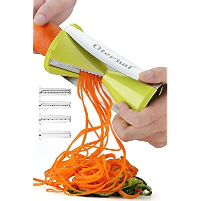 Oternal Vegetable Spiral Slicer Spiralizer for ...