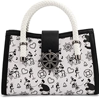 Loungefly Disney Steamboat Willie Music Cruise Crossbody Bag