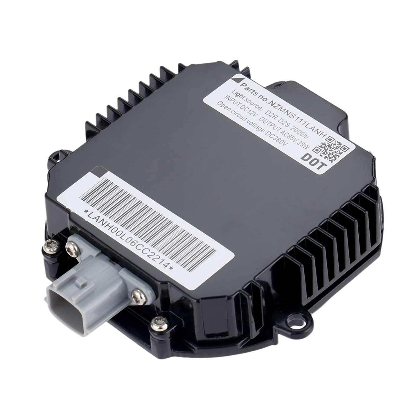 Aupoko Replacement Infiniti and Nissan Xenon HID Ballast - Headlight Control Unit - Replaces NZMNS111LANH, NZMNS111LANA, NZMNS111LBNA, 28474-89904, 28474-89907, 28474-8991A - 6 Years Warranty jgicanzak