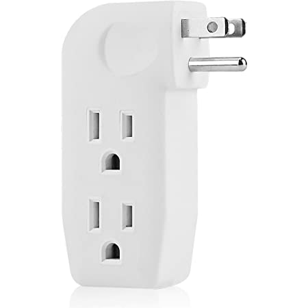Three Way Splitter Westinghouse Triple Grounded Outlet Adapter