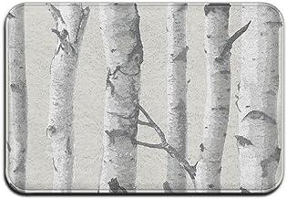 Birch Tree Peel And Stick Doormat Anti-slip House Garden Gate Carpet Door Mat Floor Pads