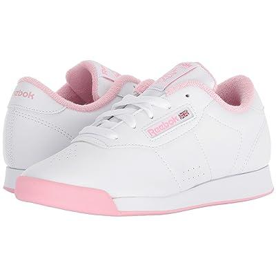 Reebok Kids Princess (Little Kid) (White/Light Pink) Girls Shoes