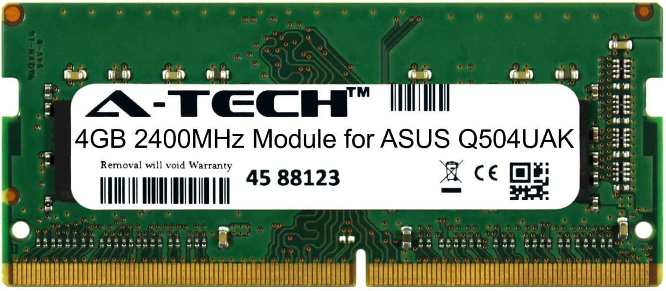A-Tech Now on sale 4GB Module Max 71% OFF for ASUS Compatible Notebook Q504UAK Laptop