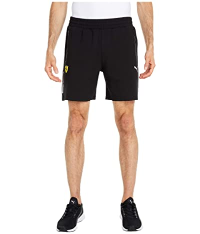 PUMA Scuderia Ferrari Sweat Shorts (PUMA Black) Men