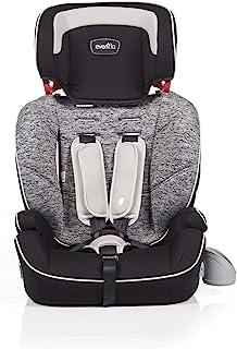 Evenflo Sutton 3-in-1 Booster Car Seat 9m-12y, Black Granite