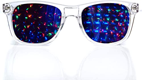 2021 Premium discount Starburst Diffraction popular Glasses - Ideal for Raves, Festivals, and More outlet sale