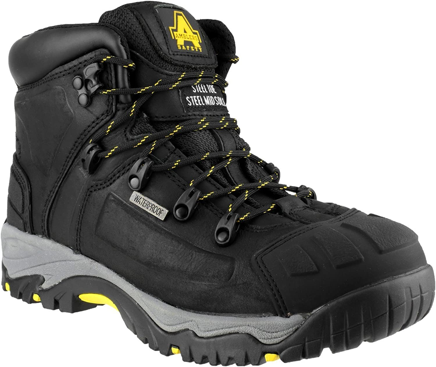 Amblers FS32 Mens S3 Safety Leather Waterproof Boot