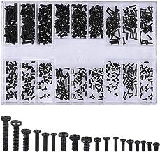 500 Stks Schroeven Universele Zwarte Schroeven Kits M1.2 M1.4 M2 Verzonken & Ronde Schroeven Elektronische Reparatie Schro...