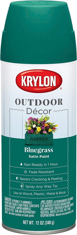 Krylon Outdoor Décor Spray Regular discount - New product! New type Paint K09332000 Bluegrass