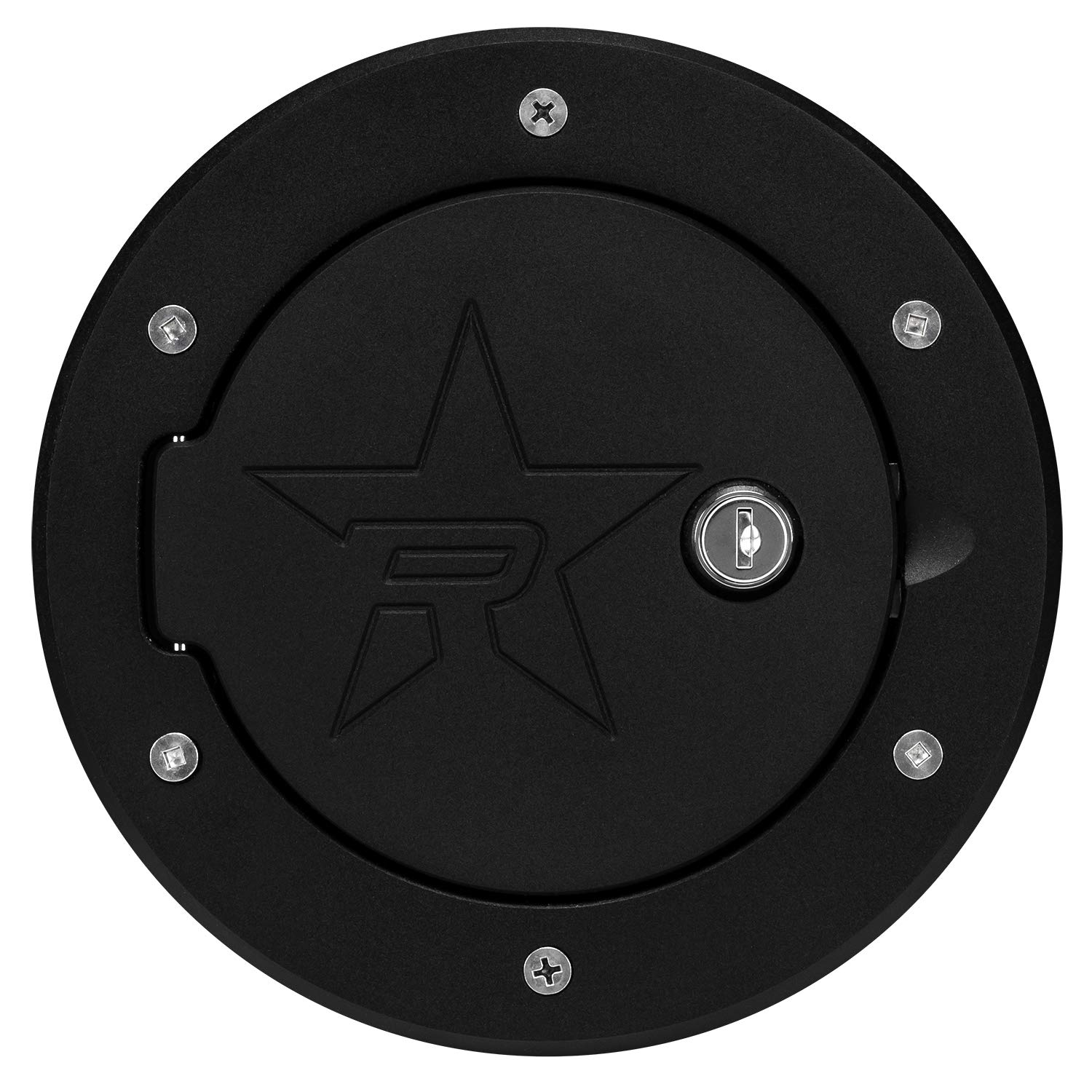 RBP Pilot RX-2 Black Locking Fuel Door
