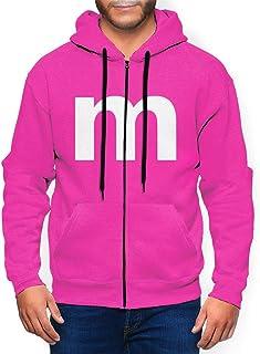 ENJYOP Men's Zip Hoodie High-Quality Sweatshirts Lightweight,Blue