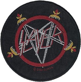 Slayer Pentagram Swords Aufnäher Logo Patch