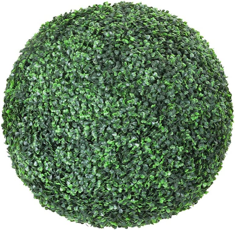 Large-scale Max 73% OFF sale LHJJ Green Boxwood Ball Decoration Selection Multi-Size Garden