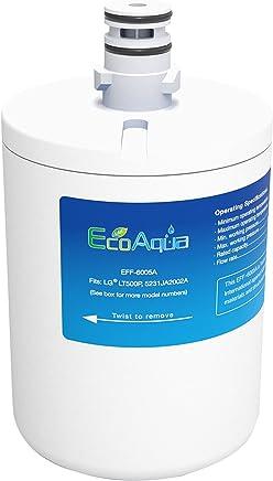 1 x EcoAqua EFF-6005A Ice & Water Refrigerator Filter