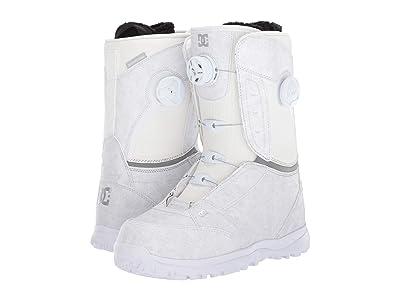 DC Lotus Boa Snowboard Boots (White) Women