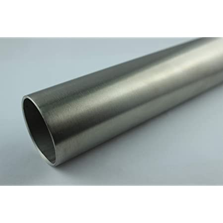 1m V2A Auspuffrohr Edelstahl Rohr 1.4301 Edelstahlrohr /Ø 45 mm x 1000 mm