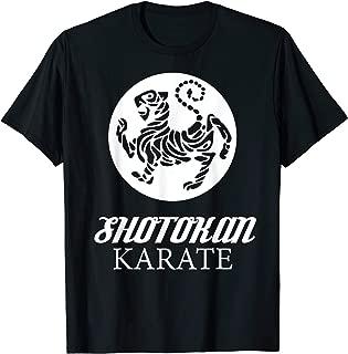 Shotokan Karate Tiger Graphic Martial Arts T-Shirt