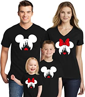 Family Trip 2019 Mickey Minnie Mouse Magicland Matching Shirts