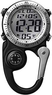 Dakota Watch Company Digi Clip Watch, Black