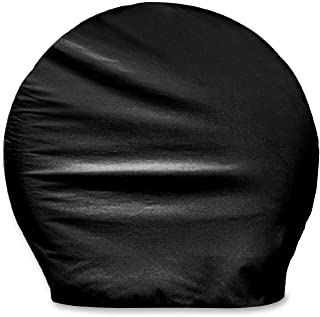 ADCO 3977 Black BUS Vinyl Ultra Tyre Gard Wheel Cover, (Set of 2) (Fits Tire Diameter 40
