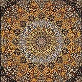 Stylo Culture Elefante Mandala Tapiz de algodón Amarillo Reina Negro Paisley Impreso Estrella Colgar de la Pared