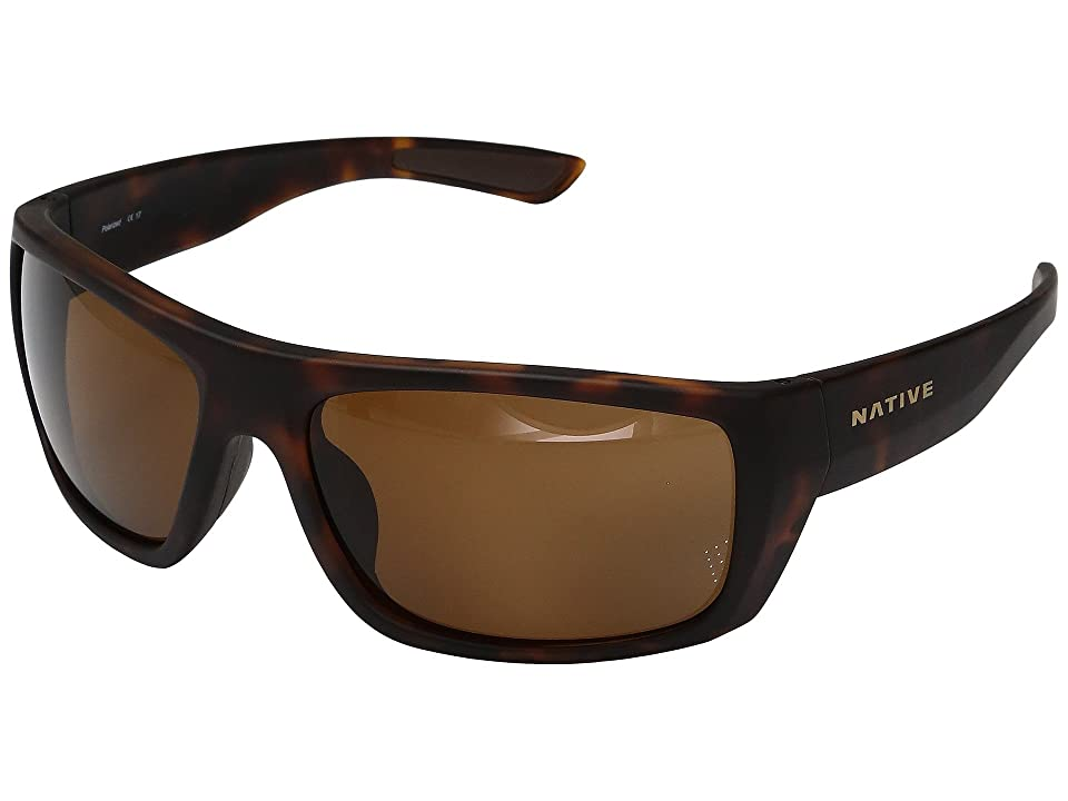 Native Eyewear Distiller (Matte Dark Tortoise) Sport Sunglasses