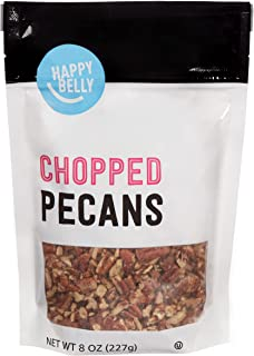 Amazon Brand - Happy Belly Chopped Pecans, 8 Ounce