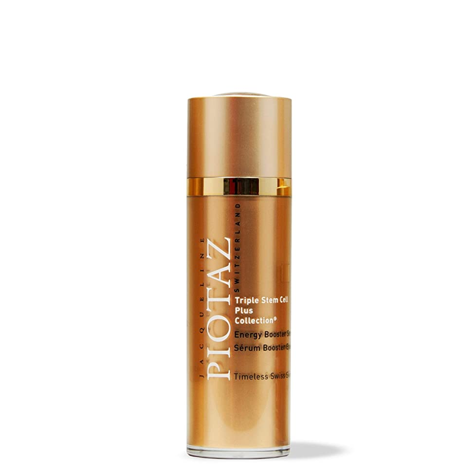 Jacqueline Piotaz The Energizing Booster Serum Hydrates Skin, Reduces Wrinkles and Fine Lines, Anti-Aging Formula, Made with Hyaluronic Acid and Vitamin B3 (30 mL)