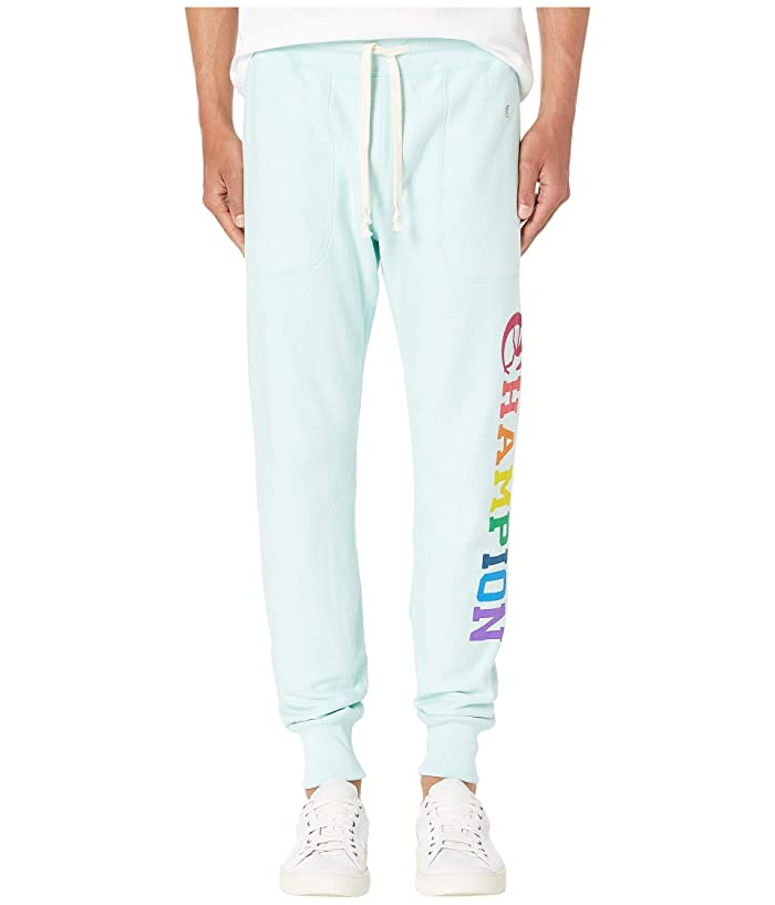 Todd Snyder Todd Snyder + Champion Graphic Slim Jogger (Minty Green) Men's Casual Pants