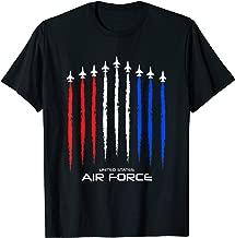 Air Force US Veterans 4th of July T shirt - American Flag  T-Shirt