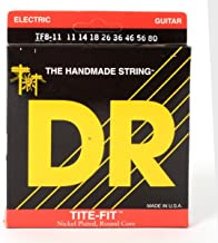 DR Strings TITE FIT Electric Guitar Strings (TF8-11)