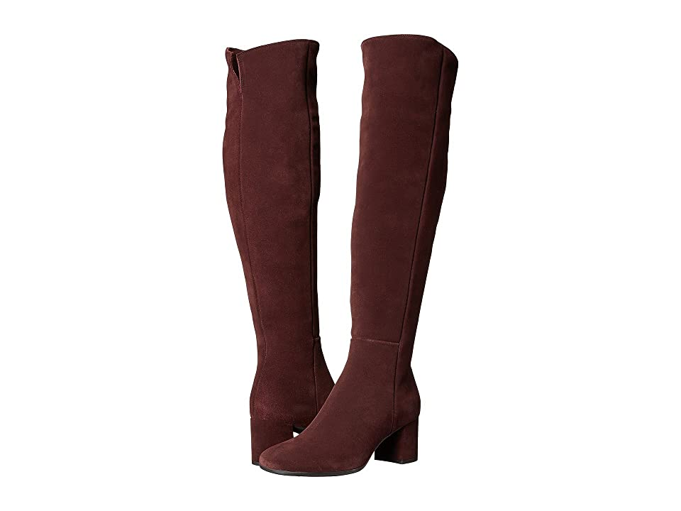 La Canadienne Jen (Bordeaux Suede) Women