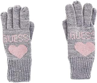 Luxury Fashion | Guess Womens AW8204WOL02GREY Grey Gloves | Fall Winter 19