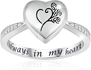 cremation jewelry rings for ashes
