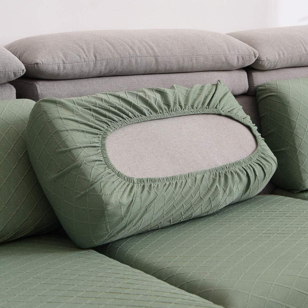 Homeen Bezug f/ür Sofa Sitzkissen,Stuhl//Loveseat//Sofa Sitzbezug Schonbezug,High Stretch Sofakissenschutz,Polyester Spandex,Protect Sofakissen-Blau/_1 Sitzer
