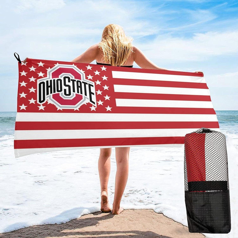 Max 48% OFF Ohio State Beach Bath Towel Quick Microfiber Soft Dry Fort Worth Mall Super Abso