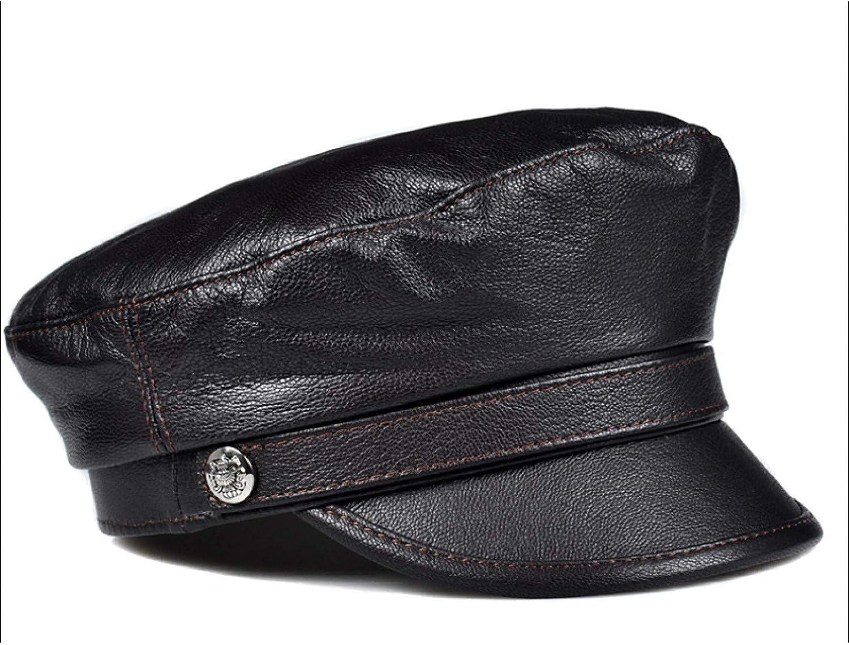 BELEMON Women Soft PU Cap Autumn Adjustable Warm Max 51% OFF Winter gift Newsboy