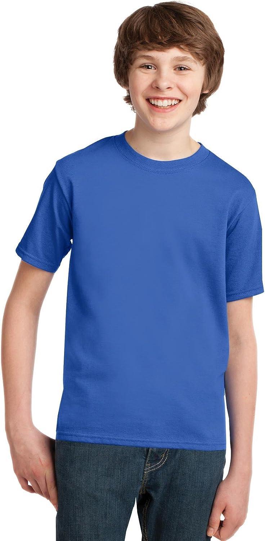 Port & Company - Youth Essential T-Shirt, PC61Y, Royal, S
