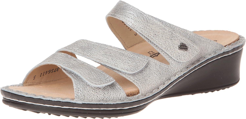 Finn Comfort Women's Scottsdale Grey Sandal 8 (UK Women's 5.5) Medium