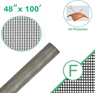Fiberglass Standard Window Screen Roll for Insect Screening Replacement Window Screens for Window Door and Patio