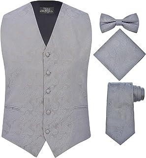 33a0167fa7b S.H. Churchill   Co. Men s 4 Piece Paisley Vest Set